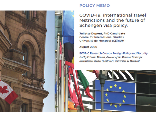 COVID-19, international travel restrictions and the future of Schengen visa policy