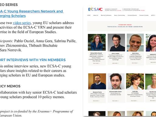 Promoting Young ECSA-C members
