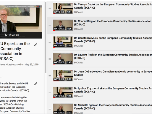 Video interviews with ECSA-C members