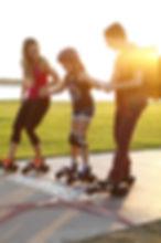 アメリカ ローラースケート アウトドア ロサンゼルス 子供向け 特許 エキソサイズ メタボ対策 オートマチック ベアリング インラインスケート