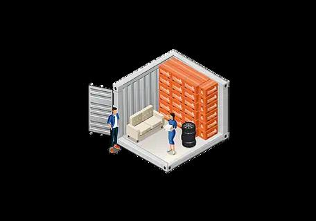 10 ft Storage Container in Aberdeen