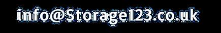 Storage123 email address