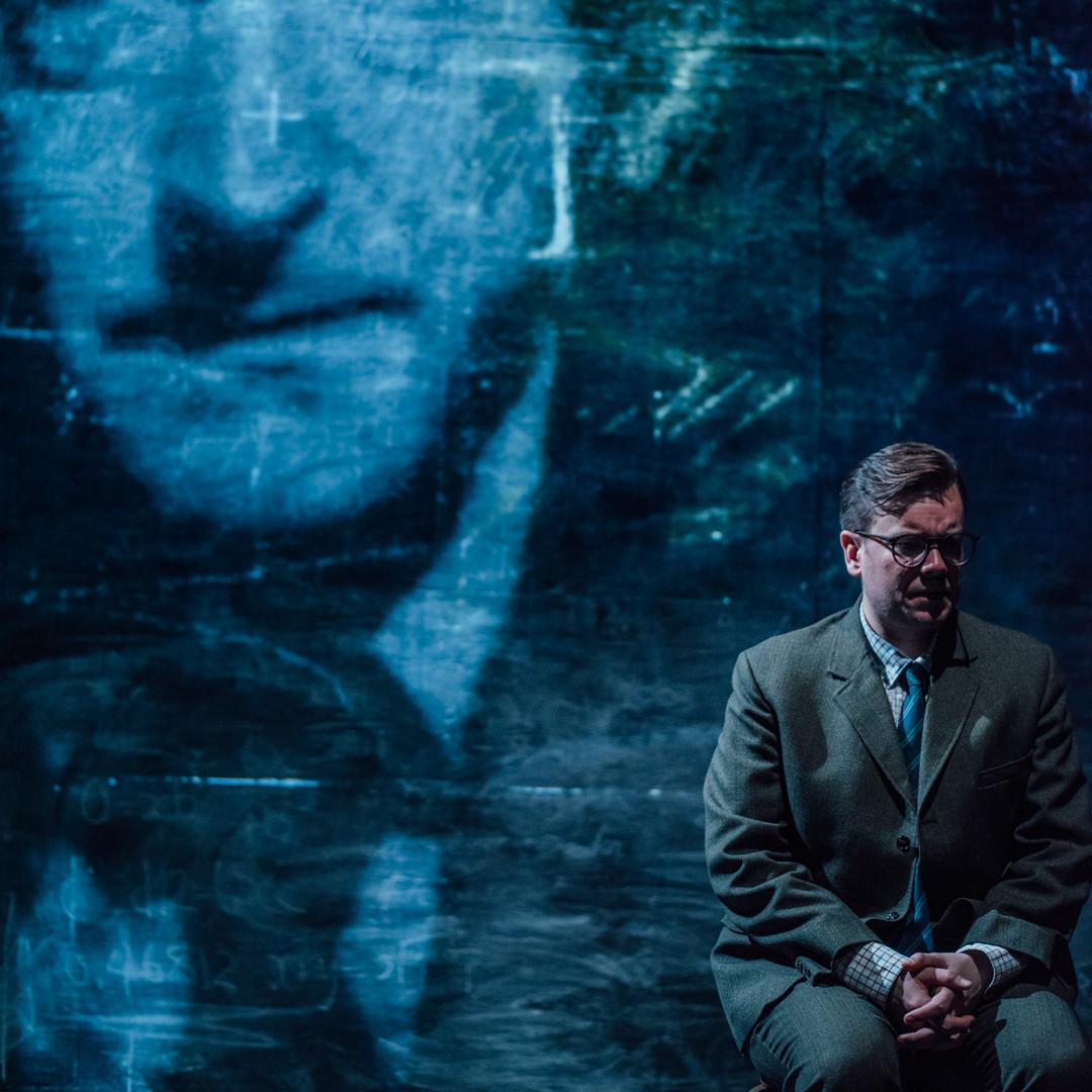 Richard Delaney as Jacob Bronowski in SECRET LIFE OF HUMANS