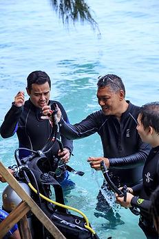 Disciver Scuba Diving