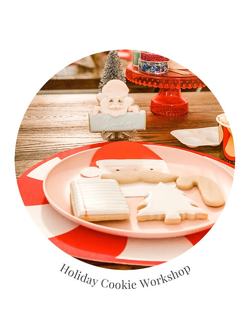 LIVE STREAM | HOLIDAY COOKIE WORKSHOP
