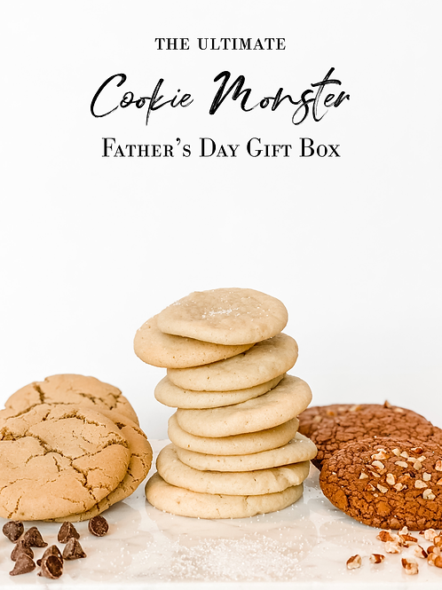Father's Day Cookie Monster Gift Box