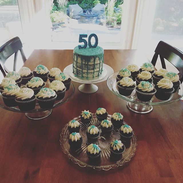 Happy 50th Mary!  We hope you enjoyed your SURPRISE party and treats. . .