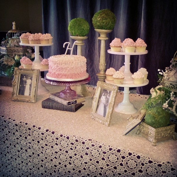 Congratulations to Jenelle and Aaron on their wedding today!  Hope you enjoy your desserts