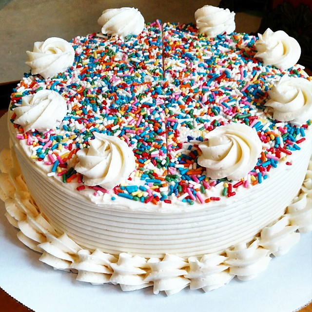 Happy little cake