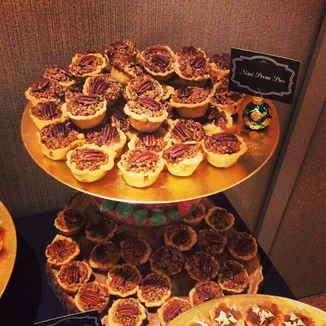 Bayley Construction Holiday Party Mini Pecan Pies #heysweets #dessert
