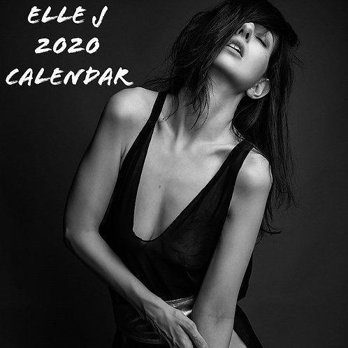 Elle J 2020 Calendar