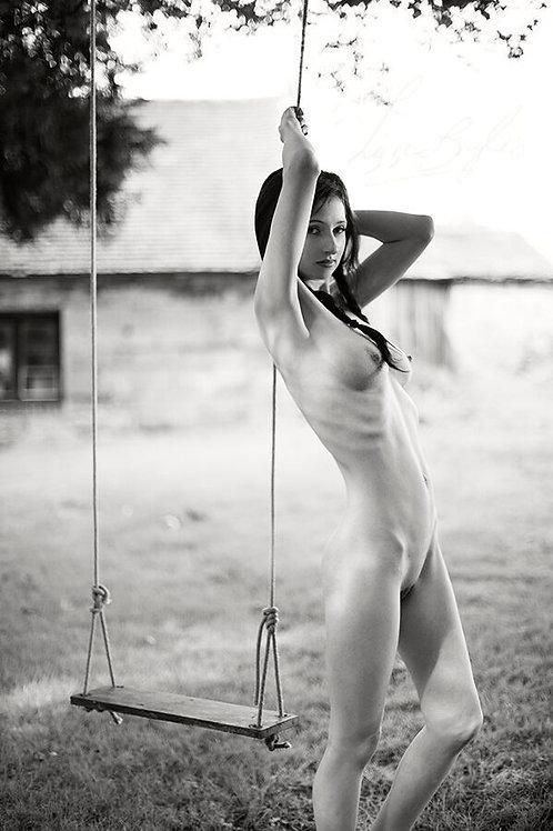 Signed Photo-Nude