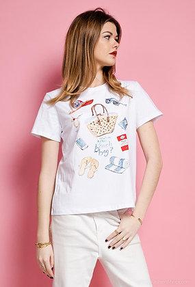 T-shirt Beach Bag