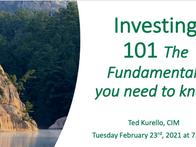 Webinar: Investing 101