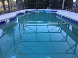Pool facing north
