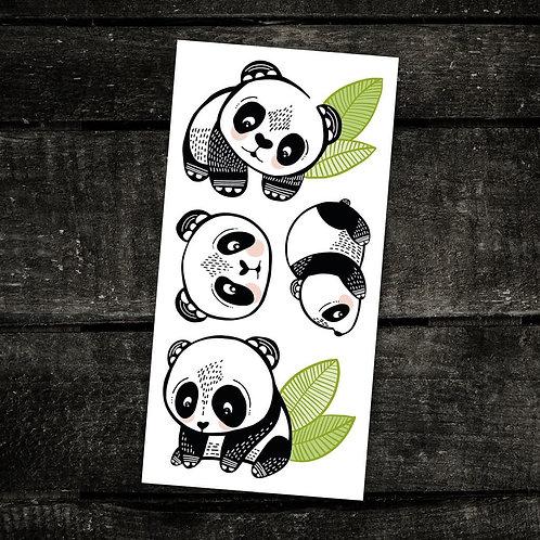 PICO Tatoo Les pandas sympas