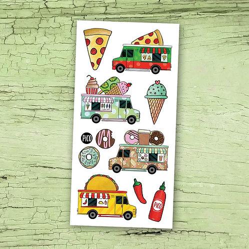 PICO Tatoo Les camions de nourriture
