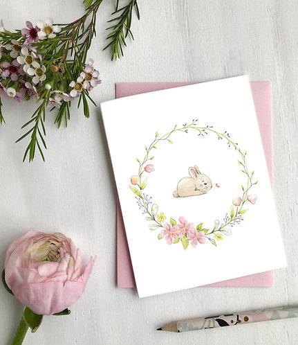Couronne lapin, Carte de souhaits