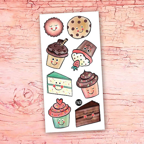 PICO Tatoo Les petits gâteaux