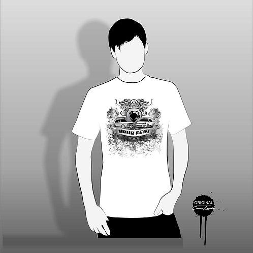 Grunge Crest Tshirt