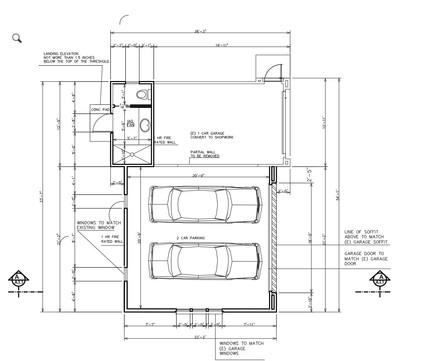 FLOOR PLAN GARAGE ADDITION DESIGN BY RUM