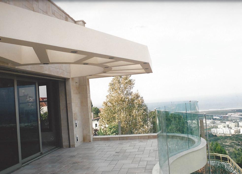 glass balcony  watching the sea  seamles