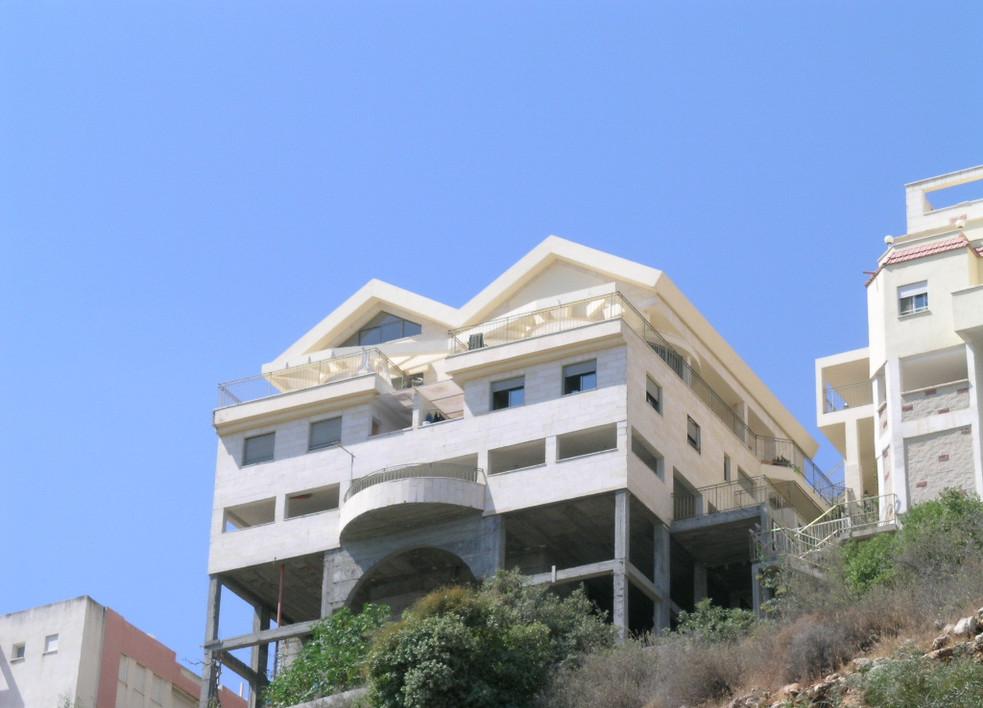 Duplex carmel mountain nesher view from