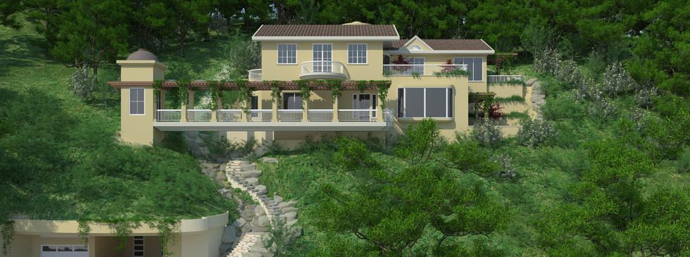 Single Green House Marin County - Design