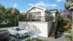 Companion Unit On Top   Of (e) Garage -