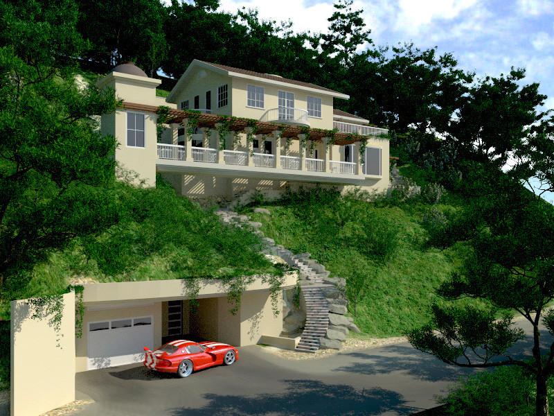 Hill side Green Single Home Fairfax Marin County