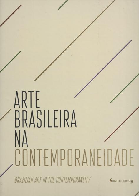 Livro Arte Brasileira na Contemporaneidade  - Capa