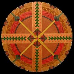 Mandala 4 Flores de Lótus