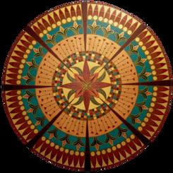 Mandala Flor de Papiro
