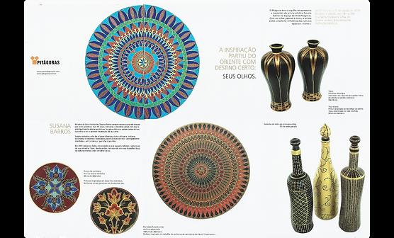 Encarte da exposição de Susana Barros no Espaço Cultura do Colégio Pitágoras
