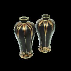 Vasos Cerâmica Obsidiana