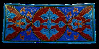 Prato retangular Islâmico I