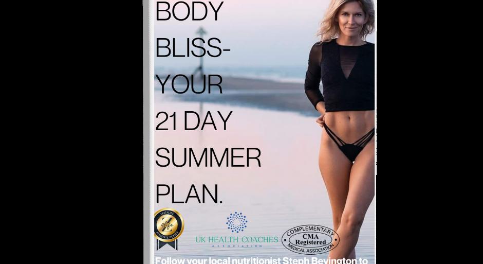 Bikini Body Bliss Recipe Book- Soft back