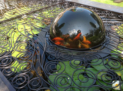 Patroon Spiral Tree met Fish-dome