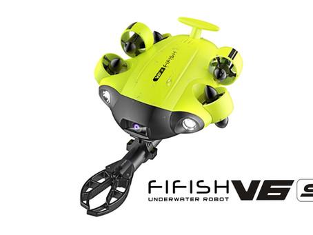 新機種情報!産業用 水中ドローン QYSEA社製『FIFISH V6S』『FIFISH V6Plus』 & 『FIFISH W6』 発表!