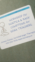 First yoga intensive for teachers