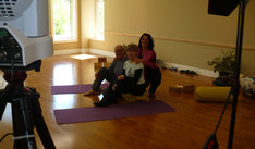 Rogers TV Yoga for Sore Bodies - Joanne was the instructor.