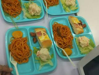 お昼ご飯作り体験!