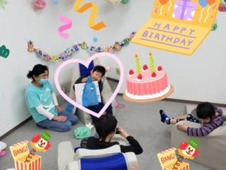 1月生まれの誕生日会