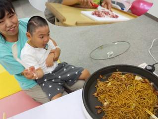 昼食作り体験