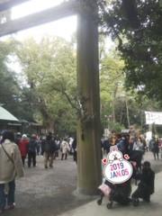 熱田神宮に初詣