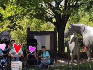 中京競馬場の公園へ🎵