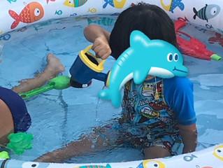 水遊びを楽しもう🐬