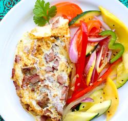 Meatlovers Omelette | Brunch |