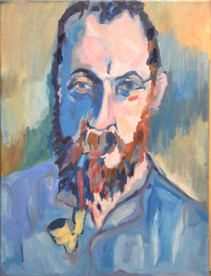 Copy of 'Henri Matisse' by Andre Derain