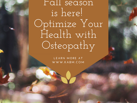 The End of the Year is Near: Optimize Your Health by Using Your Osteopathic Benefits Now!
